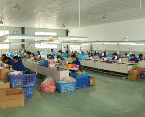 Part of sewing workshop