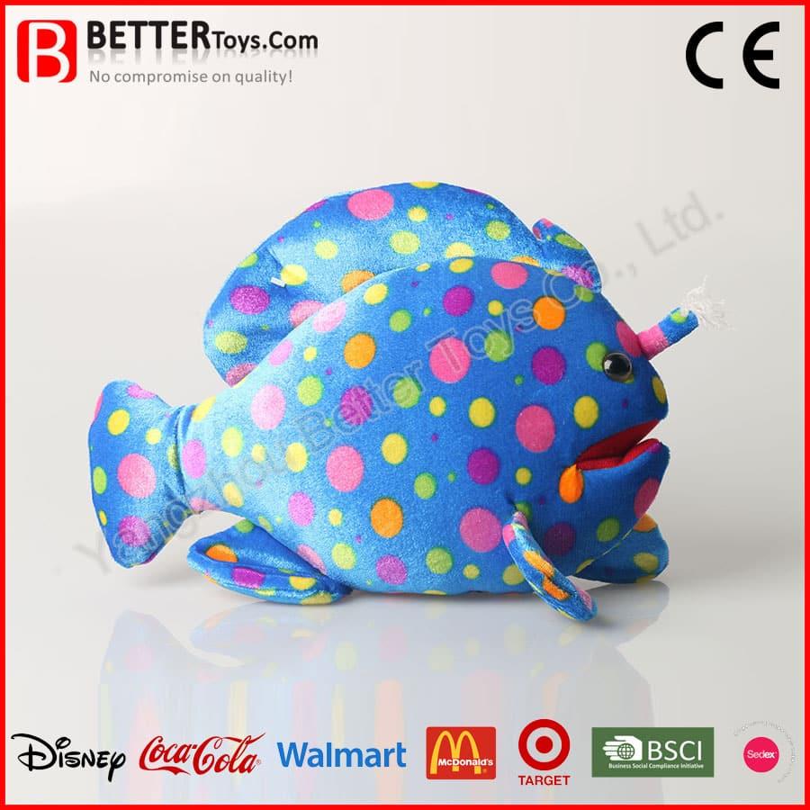 Plush Deep Sea Fish Toy Yangzhou Better Toys Co Ltd