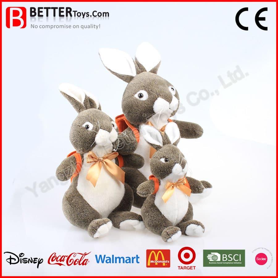 Realistic Rabbit Dog Toy