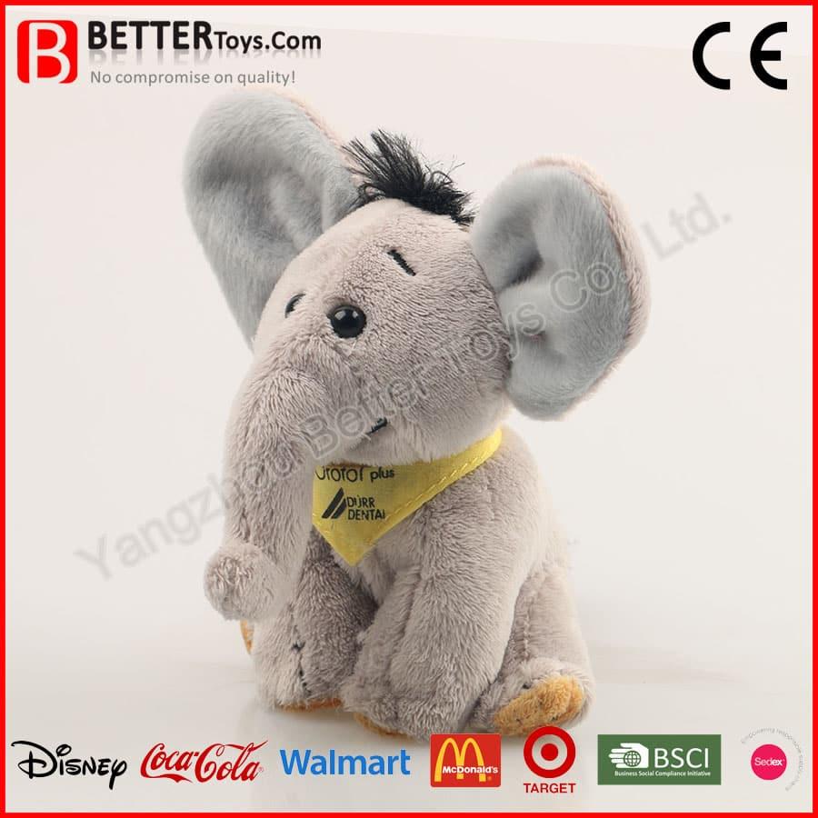 Plush Sitting Elephant Toy Yangzhou Better Toys Co Ltd