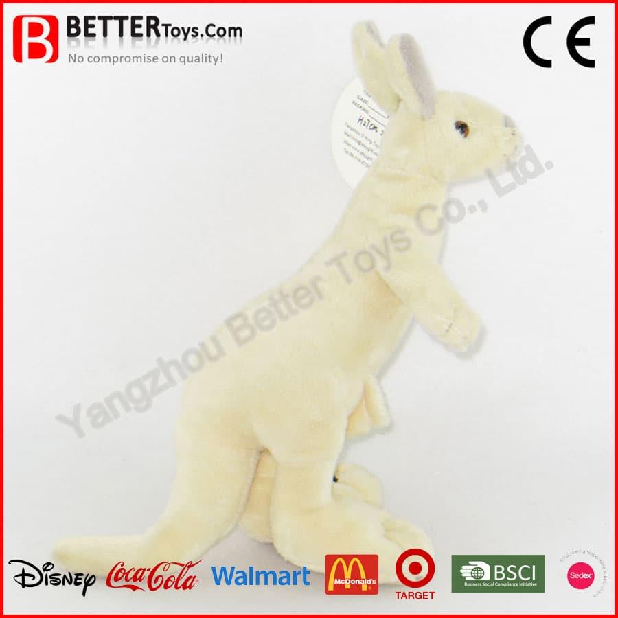 Stuffed Kangaroo Toy Yangzhou Better Toys Co Ltd