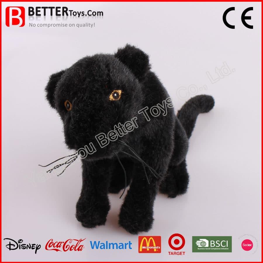 7d63989a0af8 Stuffed Black Panther Toy - Yangzhou Better Toys Co.,Ltd.