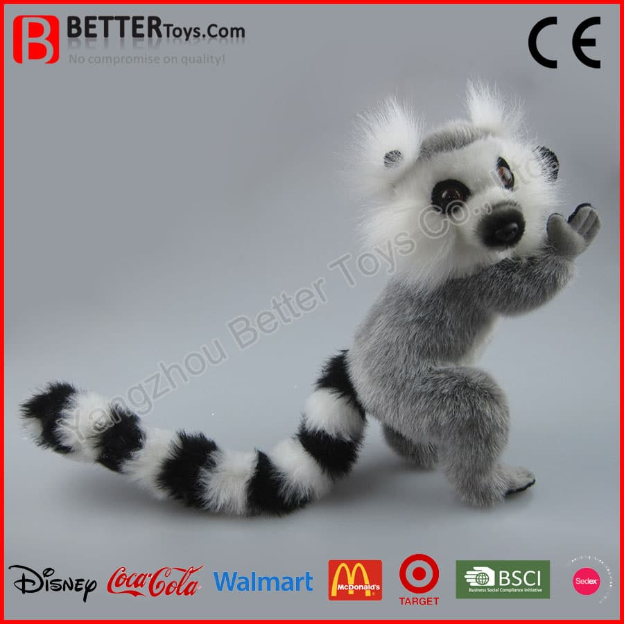 Soft Ring Tailed Lemur Toy Yangzhou Better Toys Co Ltd