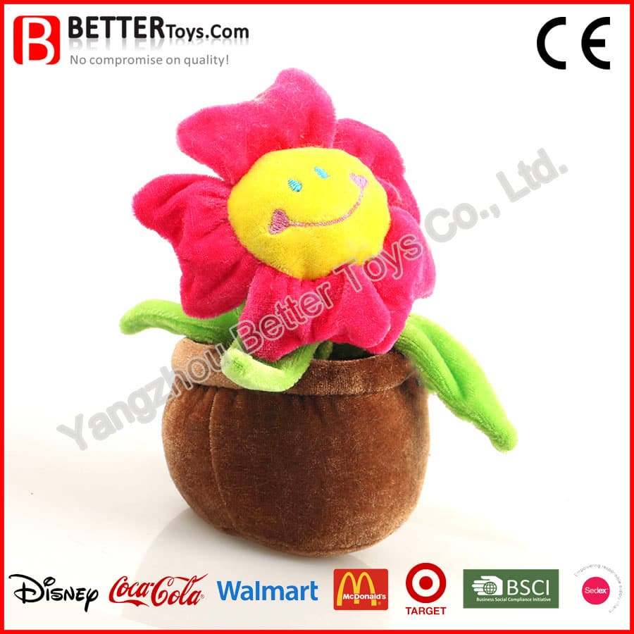 Plush Sunflower Yangzhou Better Toys Co Ltd