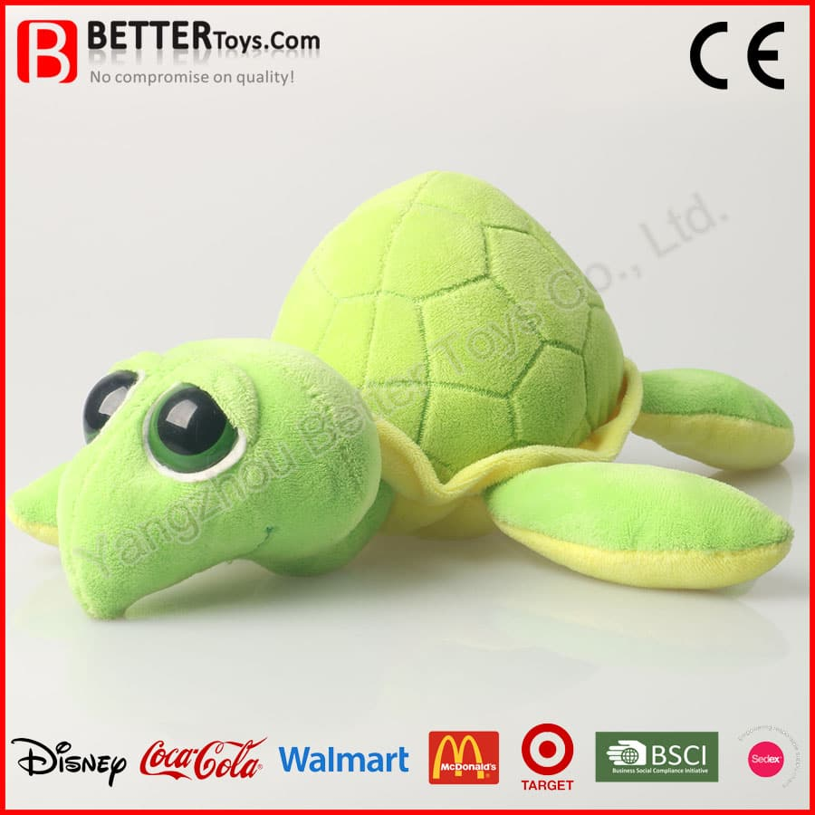 Plush Toy Stuffed Sea Animal Soft Turtle For Baby Kids