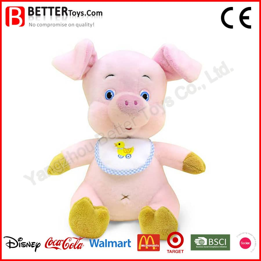 Soft Pig Baby Toy Yangzhou Better Toys Co Ltd