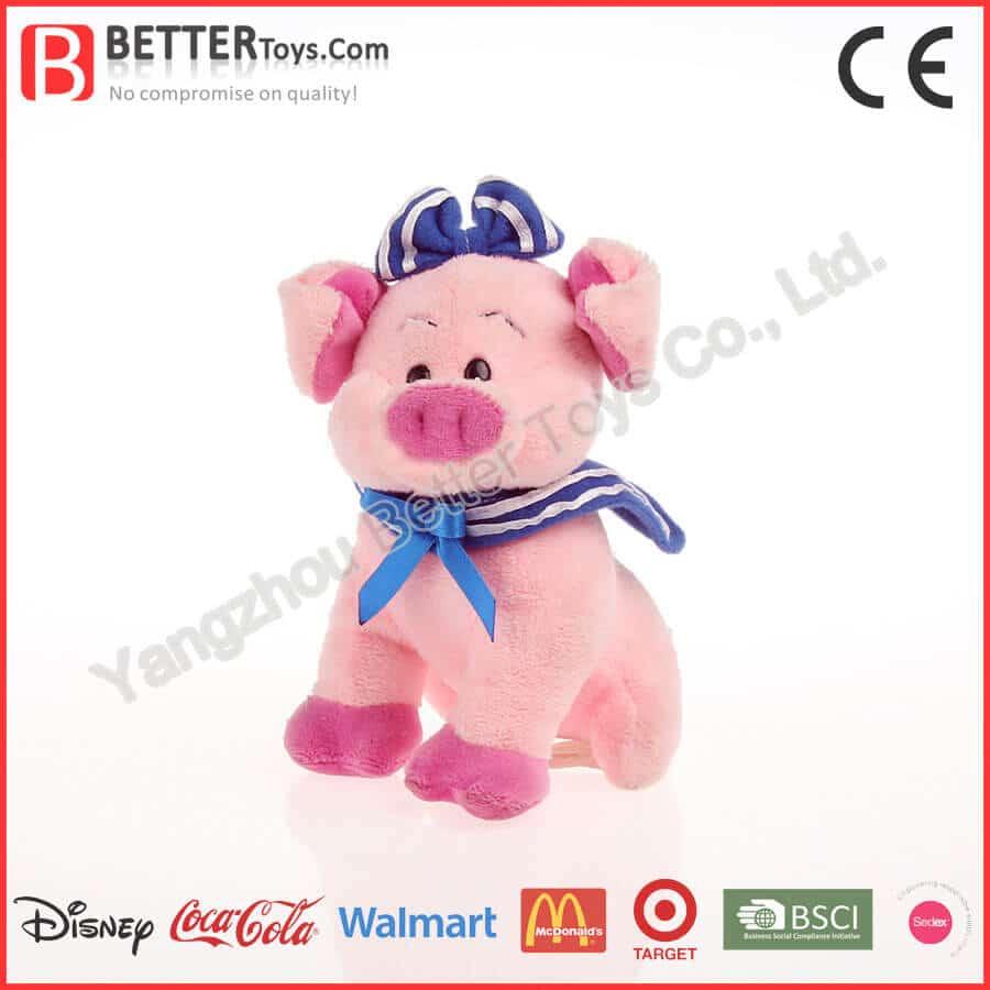 Custom pig plush toy