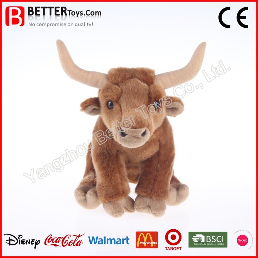 plush bull